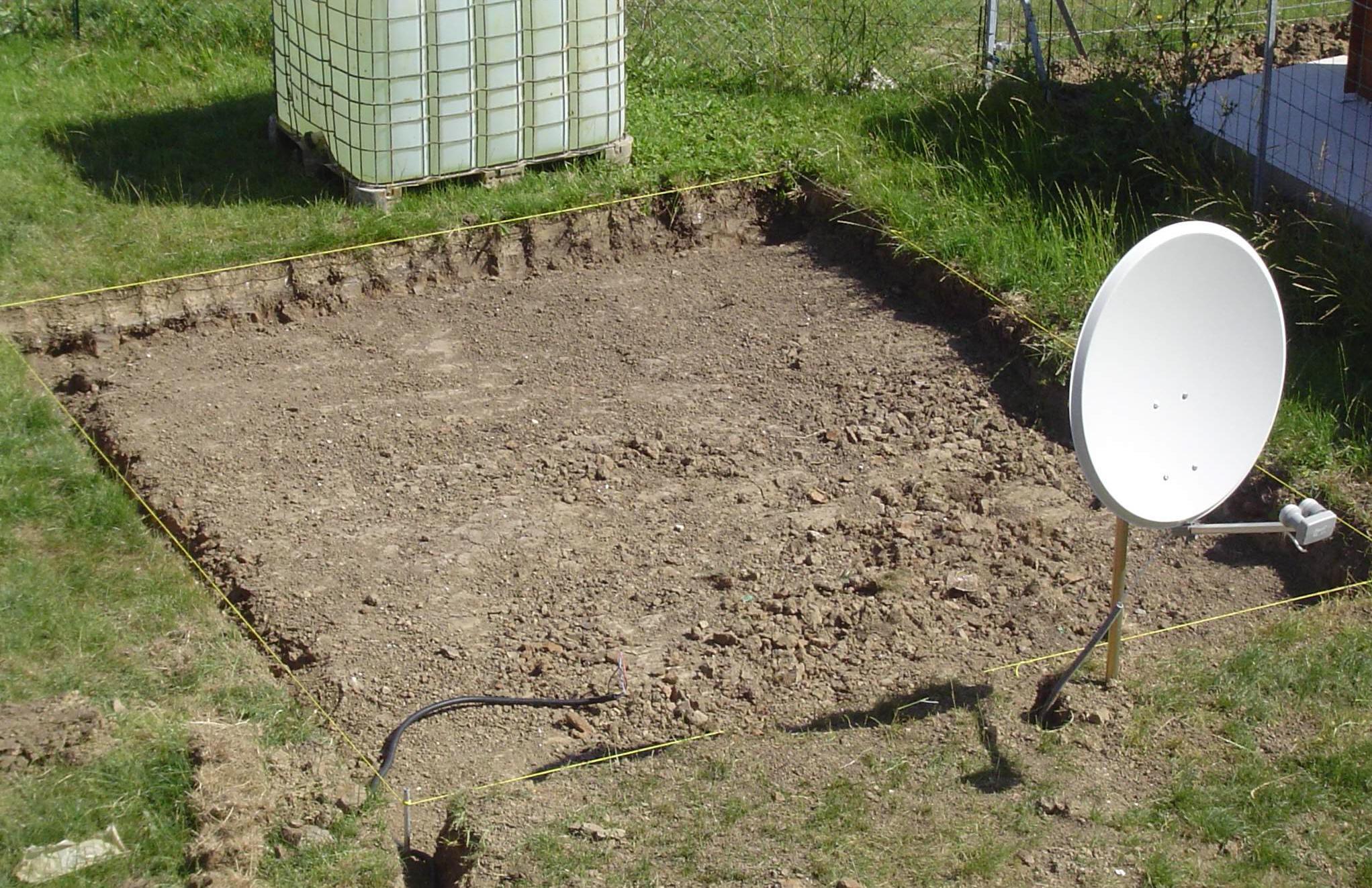 Monter un abri de jardin - Dalle abris de jardin ...